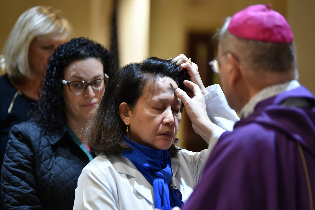 2020 Ash Wednesday at SJHMC