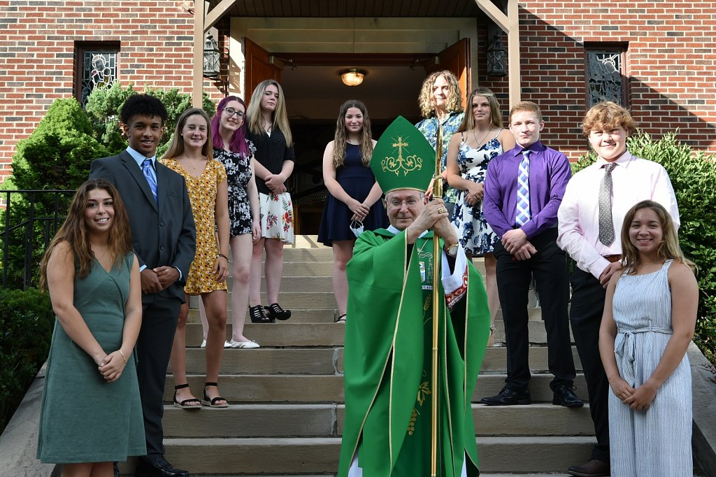 Confirmations at Diocesan Churches