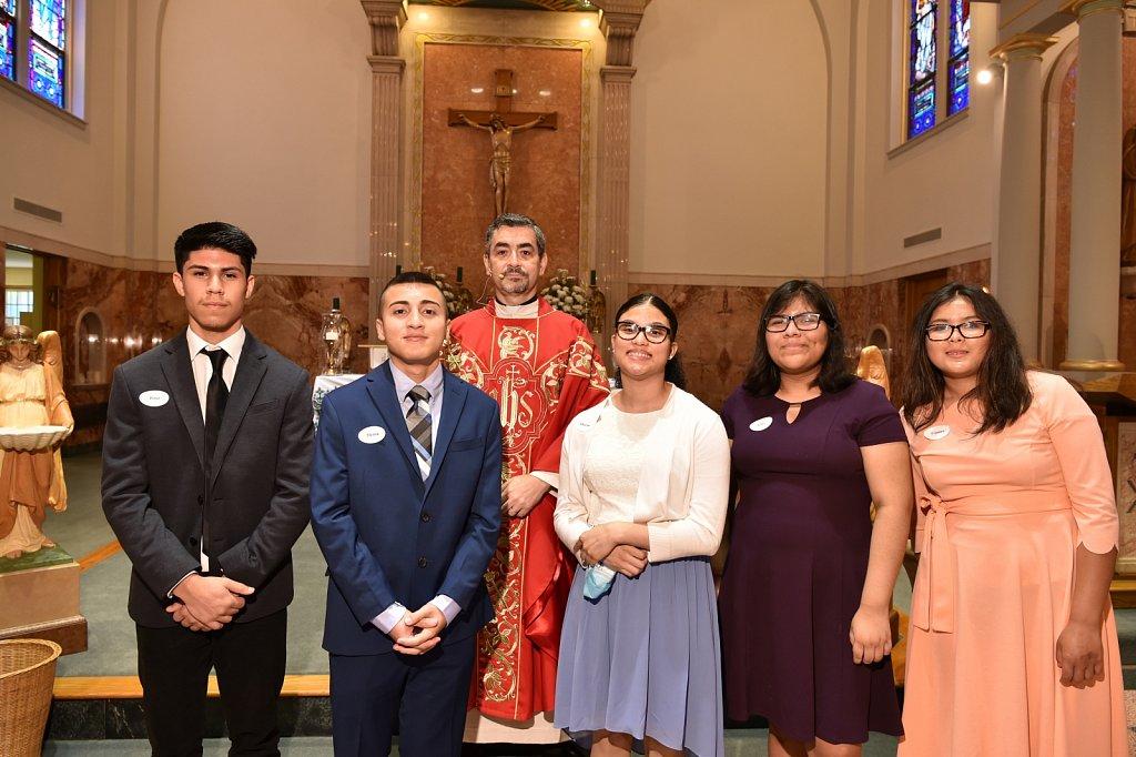 Confirmations at Diocesan Churches