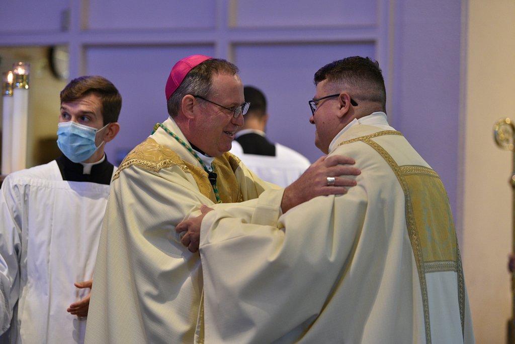 Transitional diaconate ordination of Frank Lennie