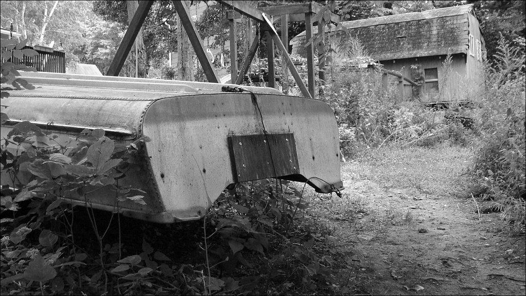 Backyard Boat