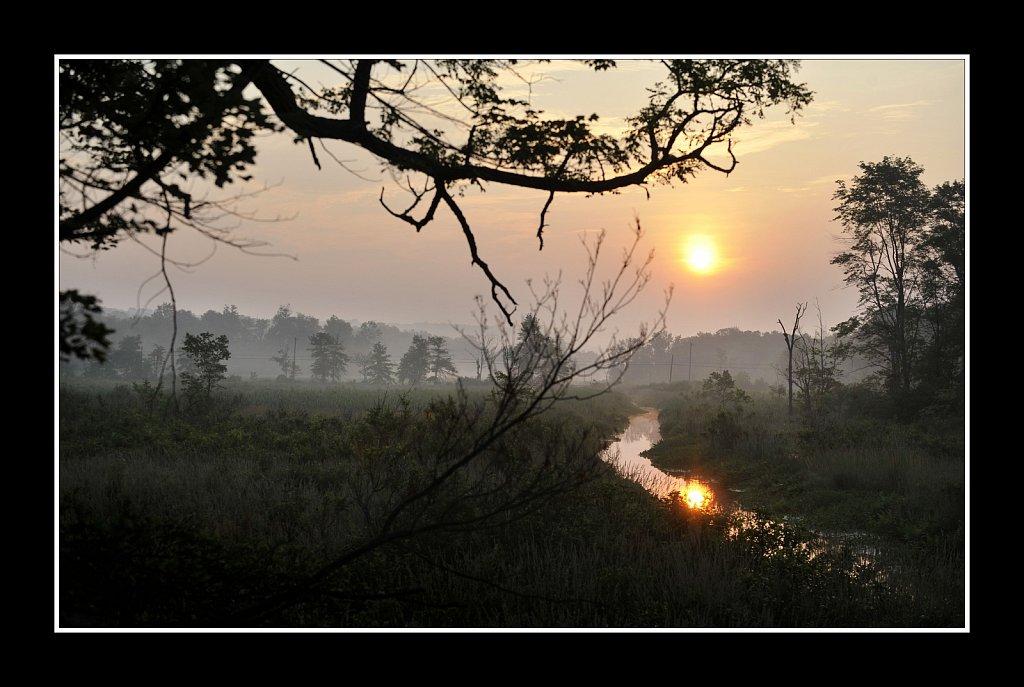 Black River Sunrise