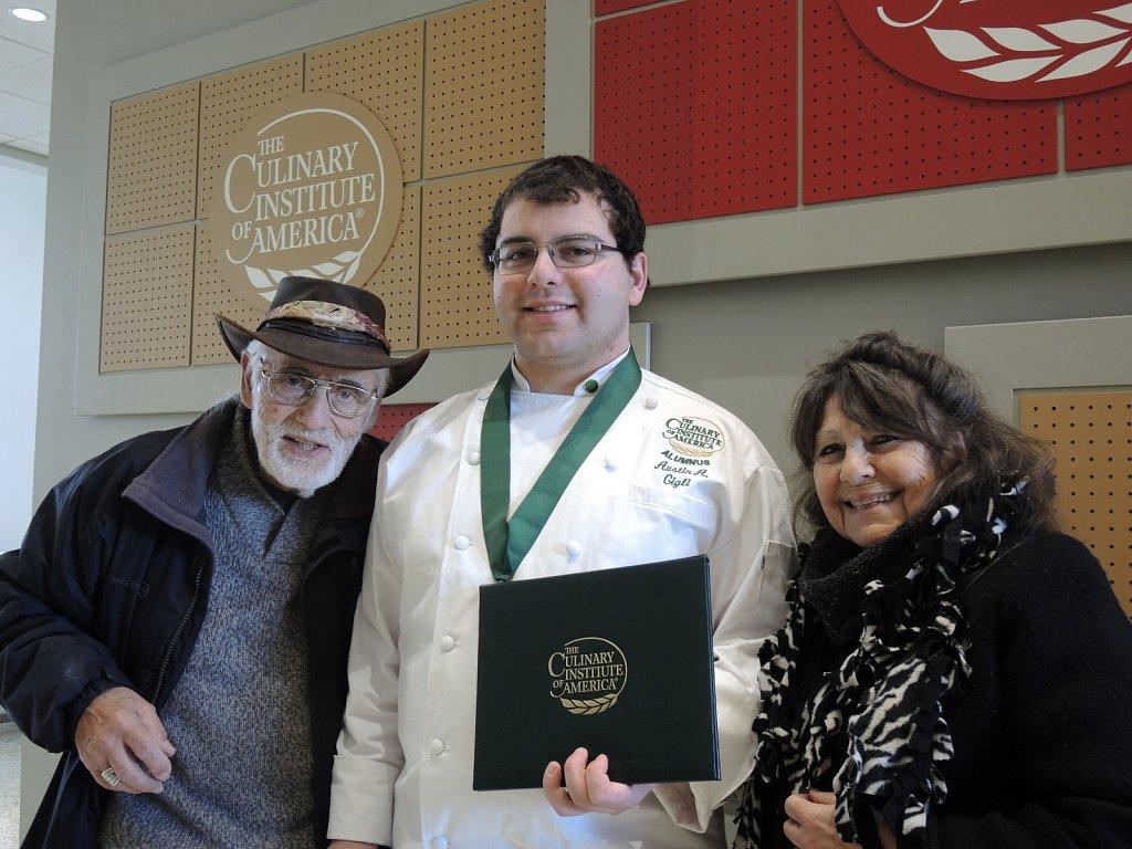 Culinary Institute of America Graduation 3/1/2019