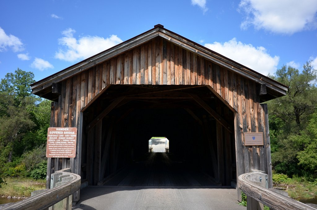 Hamden Covered Bridge